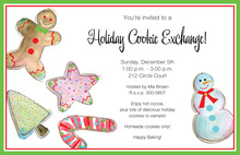 Gingerbread Jolly Cookies Invitation