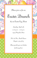 Decorated Easter Mix Invitations
