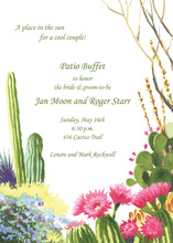 Desert Landscape Invitation