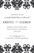 What's Your Motif Vintage Invitations