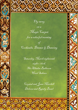 North African Inspired Invitations