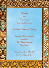 Destination To Morocco Invitations