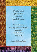Destination To Africa Invitations