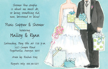 Appreciating Couples Shower Invitation