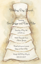 Charming Bella Bride Invitations