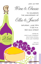 Fine Wine and Cheese Invitations