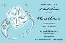 Big Bling Engagement Invitation