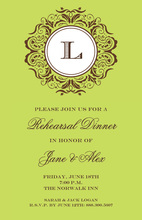Lime Mirror Invitations