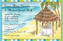 Tiki Shack Invitations