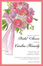 Classic Bridal Bouquet Invitations