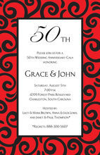 Stir Red Occasion Invitations