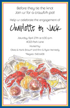 Crawfish Spread Invitation