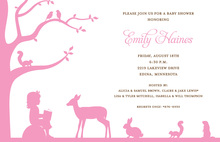Another Storytime In Subtle Pink Invitations