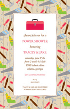 Red Tool Box Housewarming Invitations