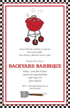 Grilling Out This Summer Invitations