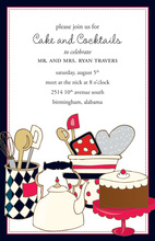 Bake Cake Invitation