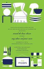 Around the House Kitchen Utensils Invitation