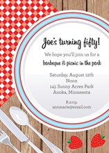 Picnic Table Invitation
