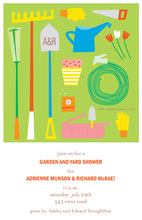 Tools Home Garden Yard Invitations