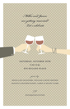 Great Red Wine Toasting Invitations
