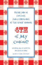 Retro Picnic Invitation