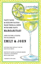 Frosty Fresh Margarita Juice Invitations