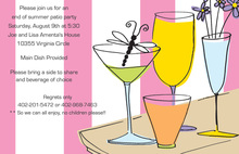 Featuring Patio Hour Drink Party Invitations