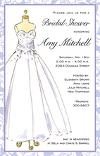 Beautiful Dress Invitation