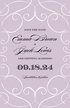 Wisp Lavender Invitation