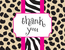 Gone Wild Thank You Cards
