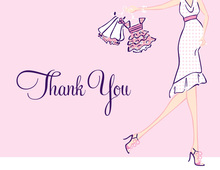 Girl Glee Thank You Cards