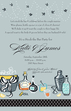 Classic Bar Cocktail Party Invitations