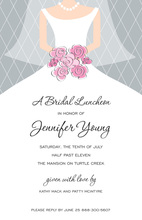Modern Bride Party Invitations