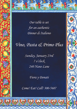 Destination To Italy Invitations