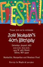 Casual FIESTA! Invitations