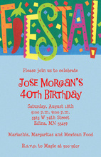 FIESTA! Announcement Invitations