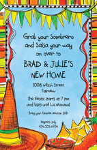 Spicy Taste Fiesta Invitations