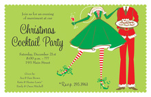 Holiday Welcome Couple Invitations