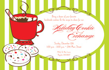 Delicious Cocoa Sweets Invitation