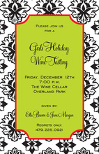 Damask Festive Glory Invitations