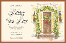 Festive Entry Holiday Invitations