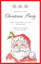 Jolly St. Nick Invitation