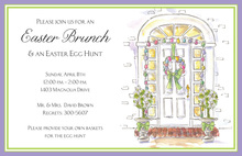 Easter Entry Invitation