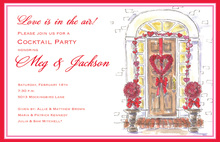 Valentine Doorway Entrance Invitations
