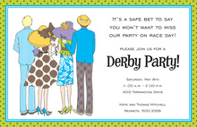 Derby Group Fan Invitations