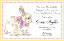 Lovely Sweet Easter Bunny Invitations