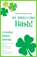 St. Patty Flair Invitation