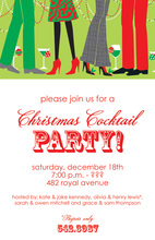 Festive Modern Coctails Invitation