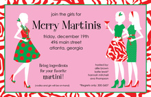 Festive Chicas Invitation