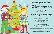 Festive Kids Invitation